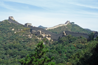 Badaling, a section of the Great Wall about 50 miles northwest of Beijing