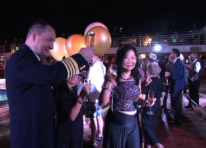 New Year's Eve Celebrations: Ships Welcome 2015
