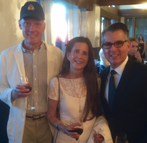Oceania Club Members Ronald & Donna Thompson with Oceania Cruises Senior Vice President James Rodriguez