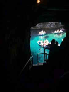 Melissani tunnel