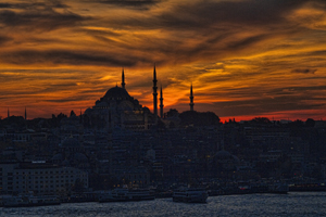 Istanbul Sunset – A Call to Prayer (David Smith)