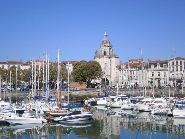 La Rochell Clock and Boats