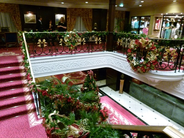 Nautica Holiday Staircase