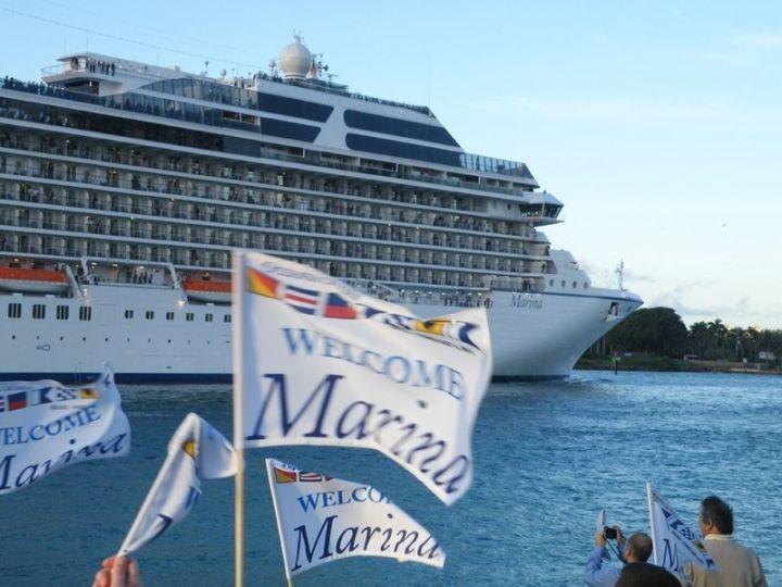 Marina and Flag