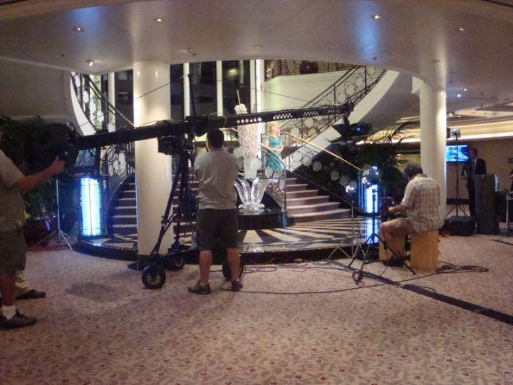 Mary Hart Filming Far