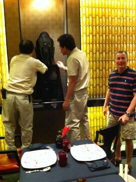 Raising Buddha