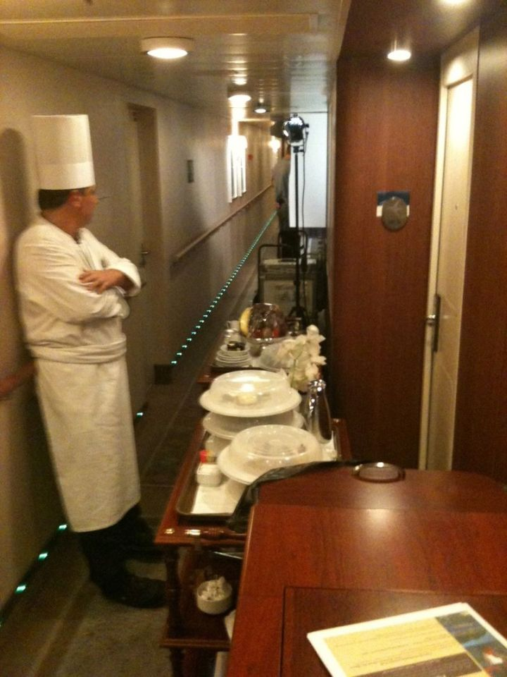 Chef on Set