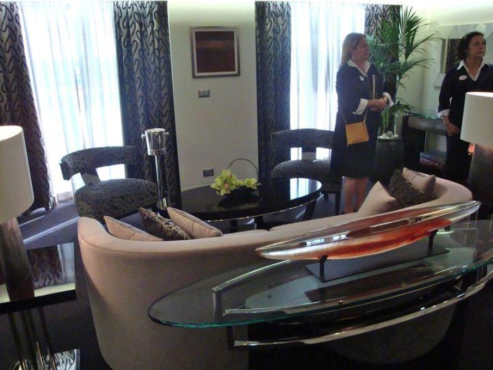 Oceania Suite Living Room