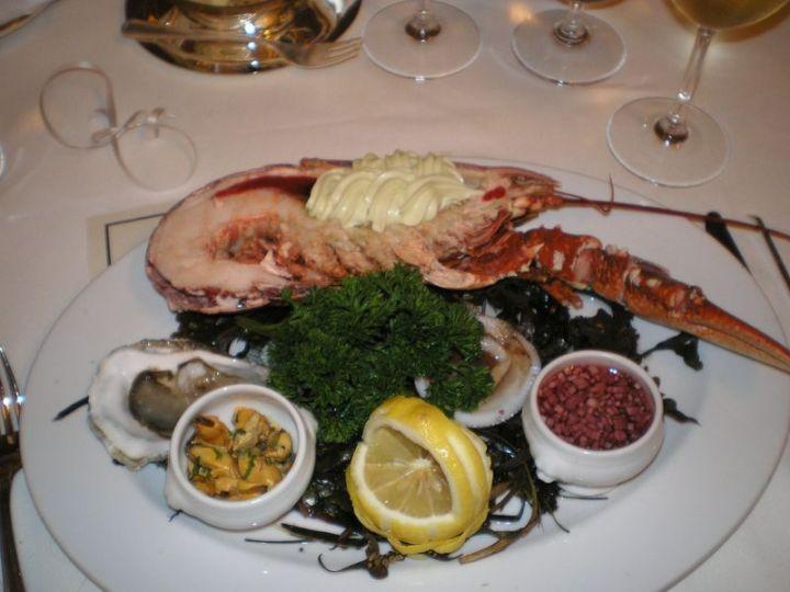 Patio Dinner Lobster