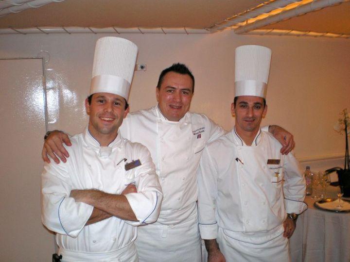 Patio Dinner Chefs