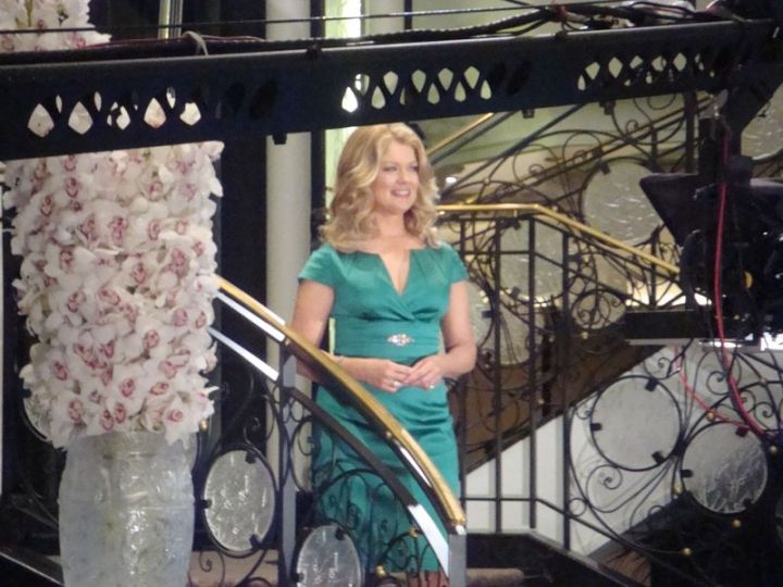 Mary Hart Filming Close