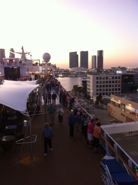 Inaugural Sail Away