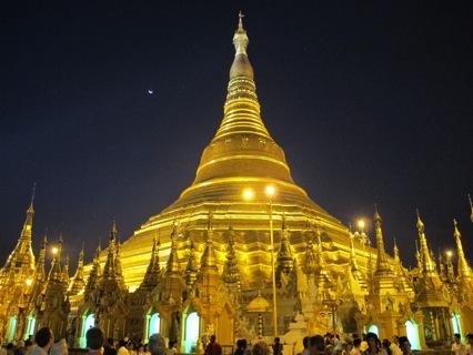 Yangon, Myanmar Shwedagon pagoda