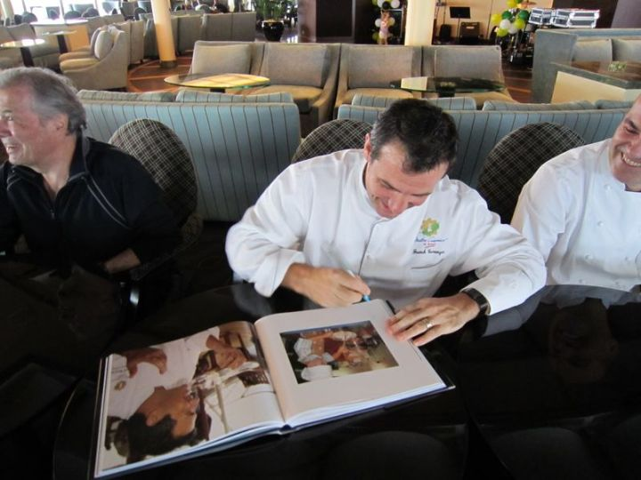 Franck Signing