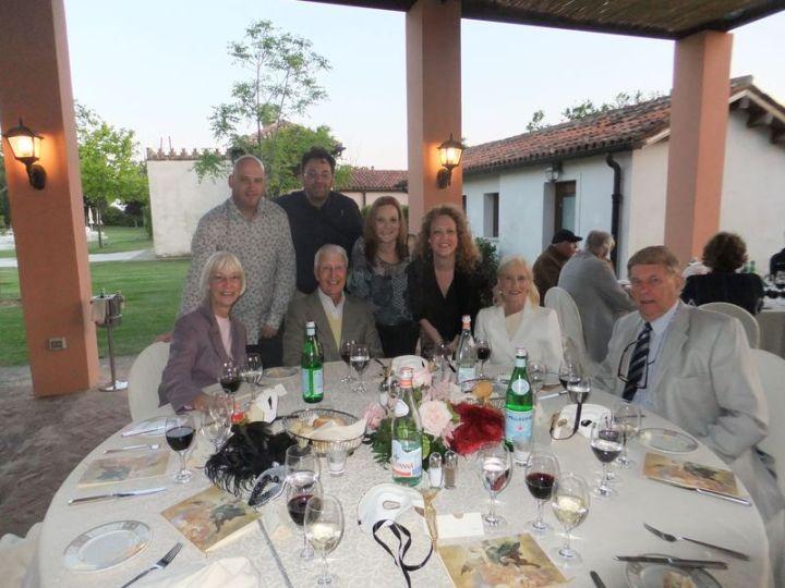 Venice dinner group