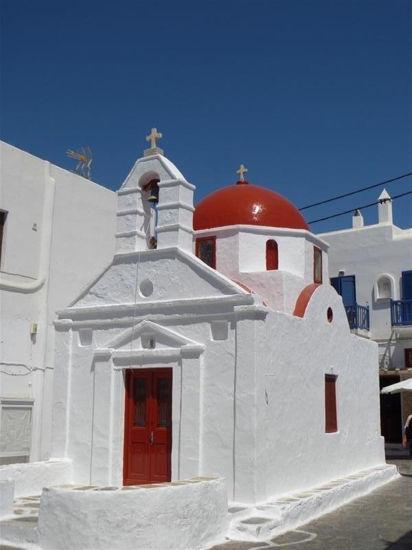 Red Door & Dome