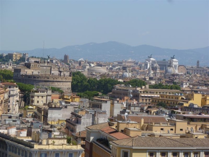Rooftop Rome