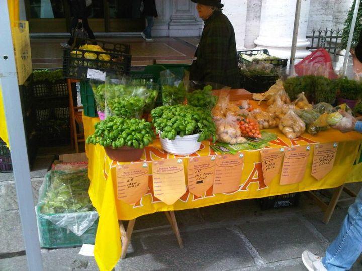 Genoa Vegetable Market