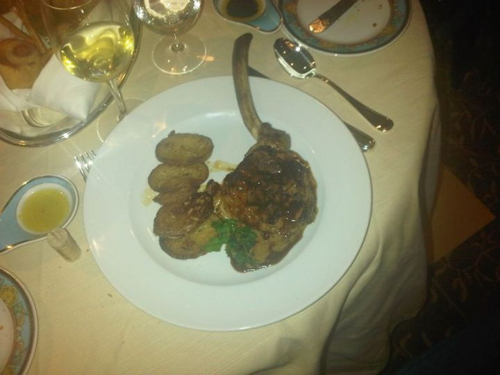 Toscana Veal Chop