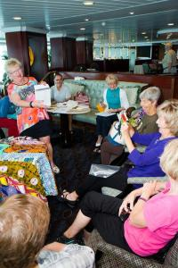Around the World Quilt Project launched on Oceania Insignia