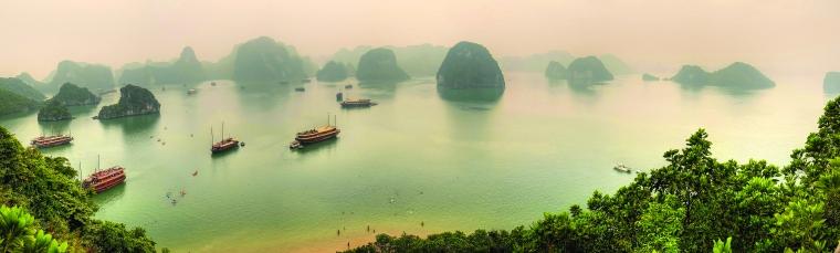 Ha long bay - misty