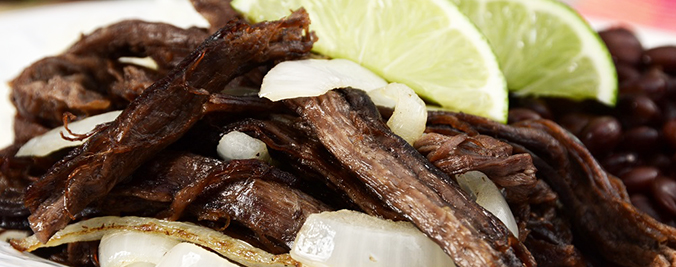 """""""Vaca Frita is a classic Cuban dish of stewed, shredded beef fried until crispy.More images of Cuban food:"""""""