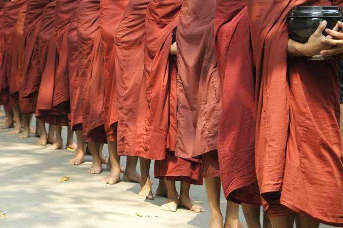 monks in myanmar, Top 4 Asia Shore Excursions