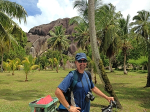 Leisurely cyciing is a great option on La Digue